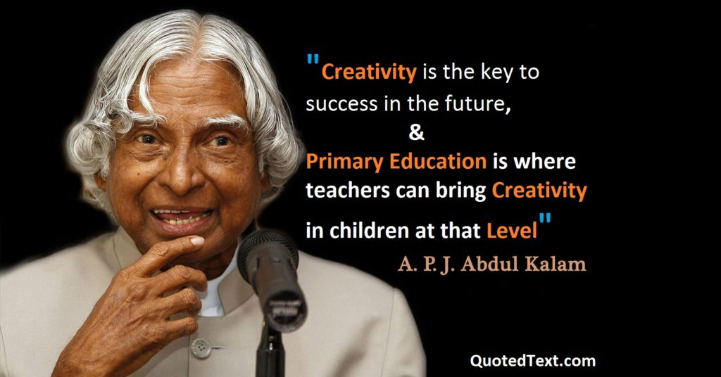 apj abdul kalam Thoughts on Education