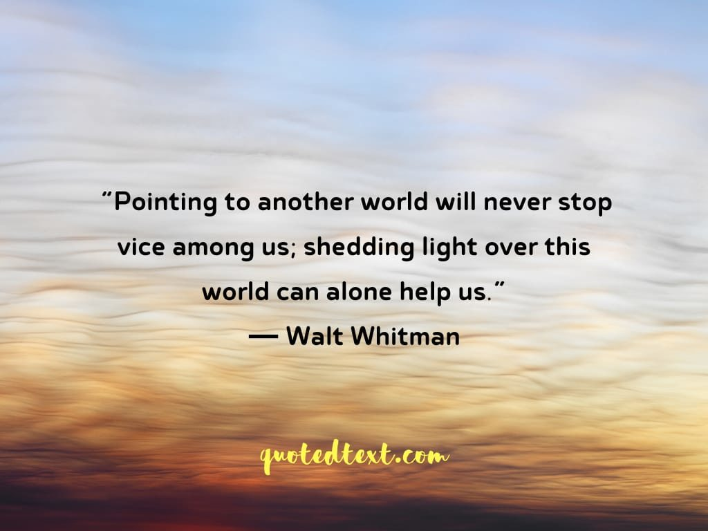alone quotes by walt whitman