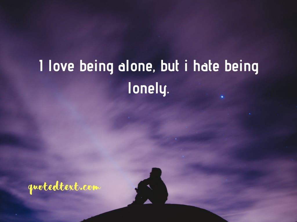 alone status new