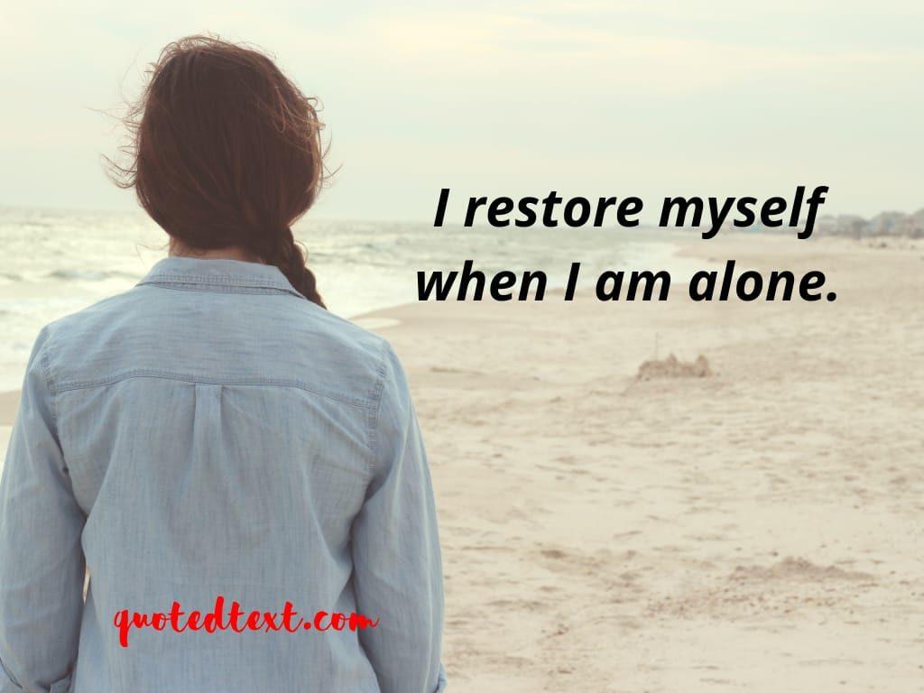 alone status on healing