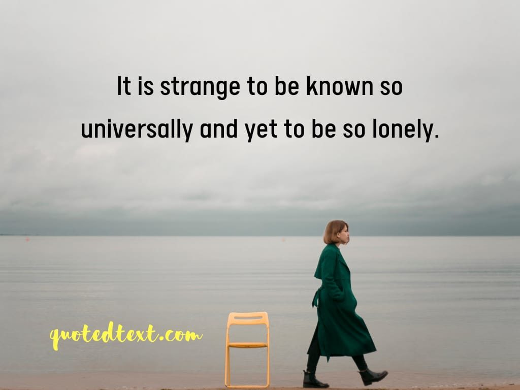 alone status on loneliness