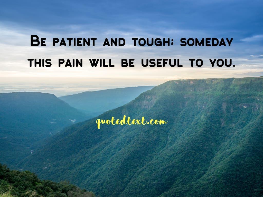 alone status on pain