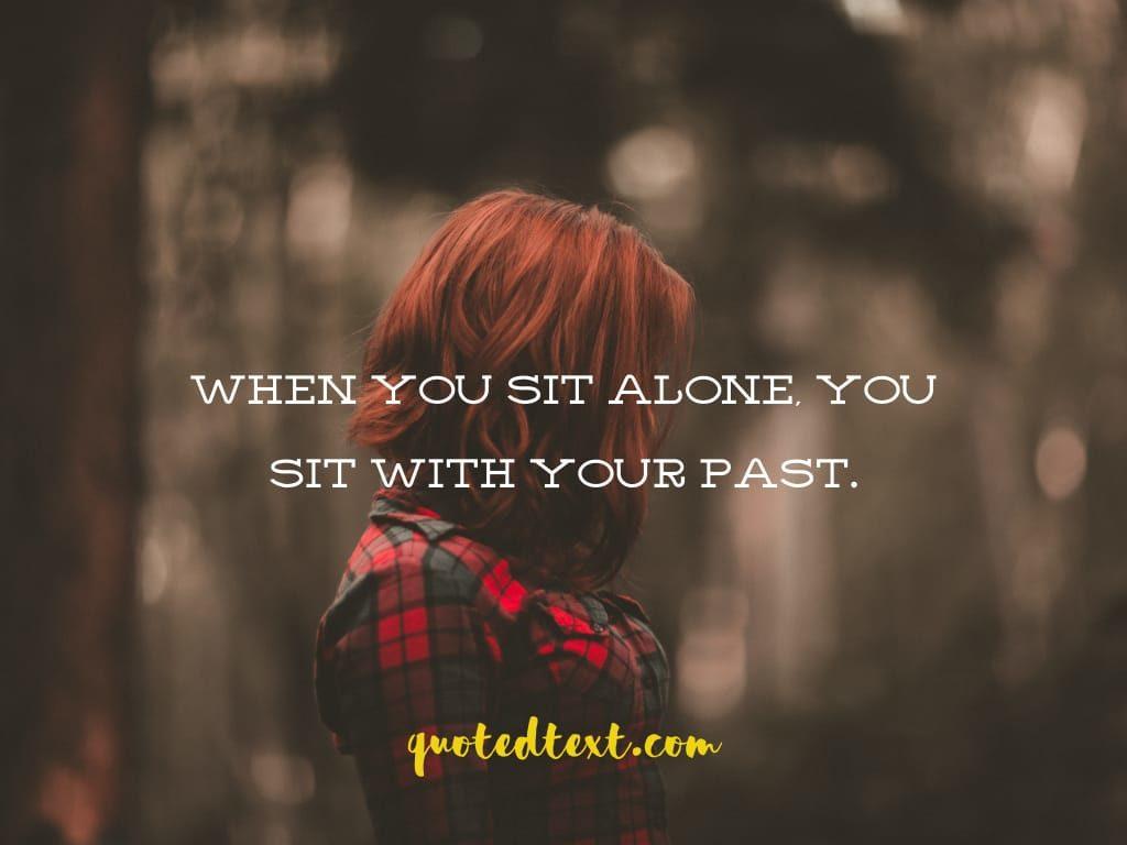 alone status on past