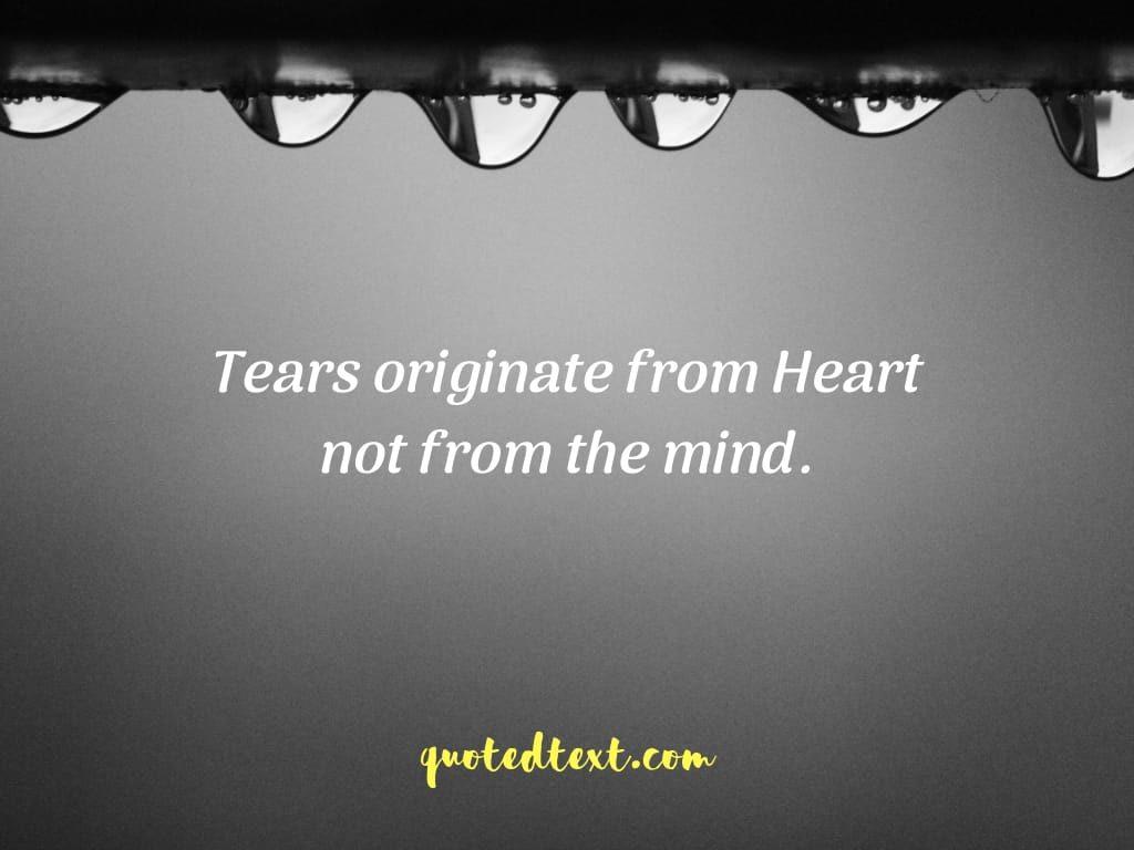 tears status