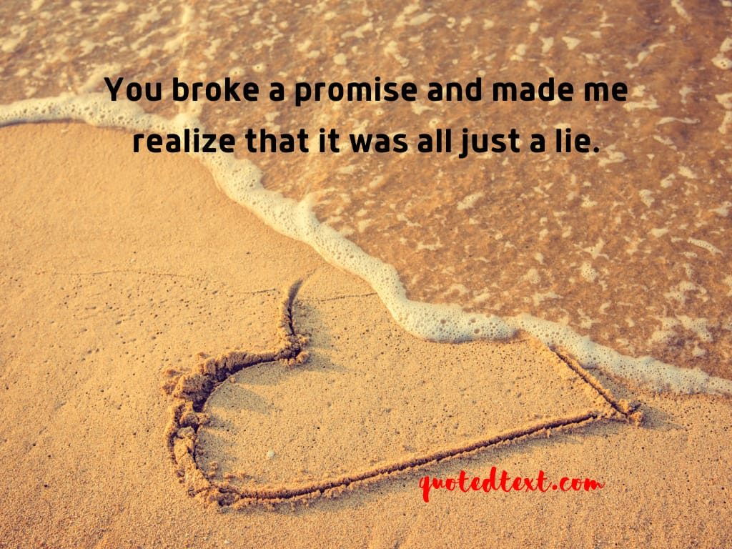 promise breakup status