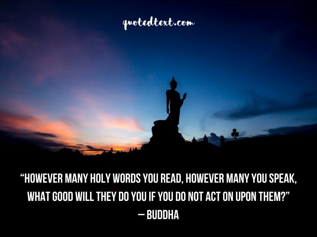buddha quotes on holy books