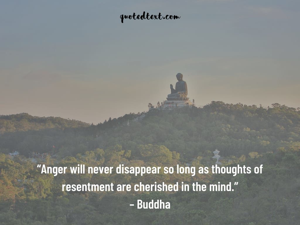 buddha quotes on thoughts and anger