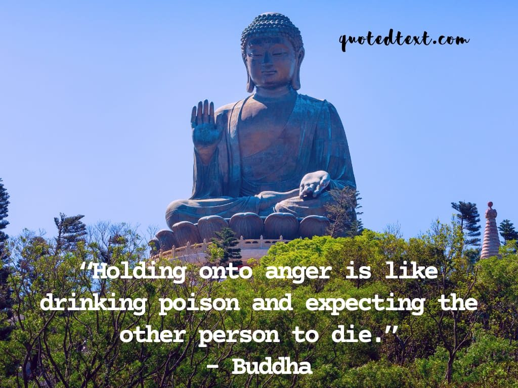 holding anger quotes by buddha