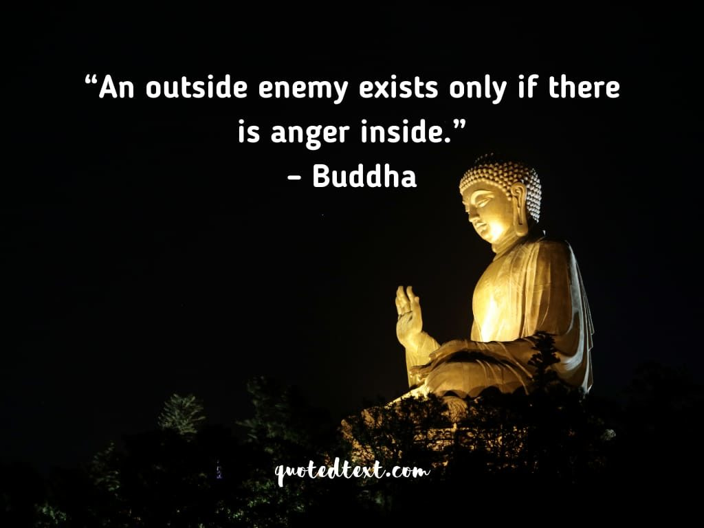 buddha quotes on enemy