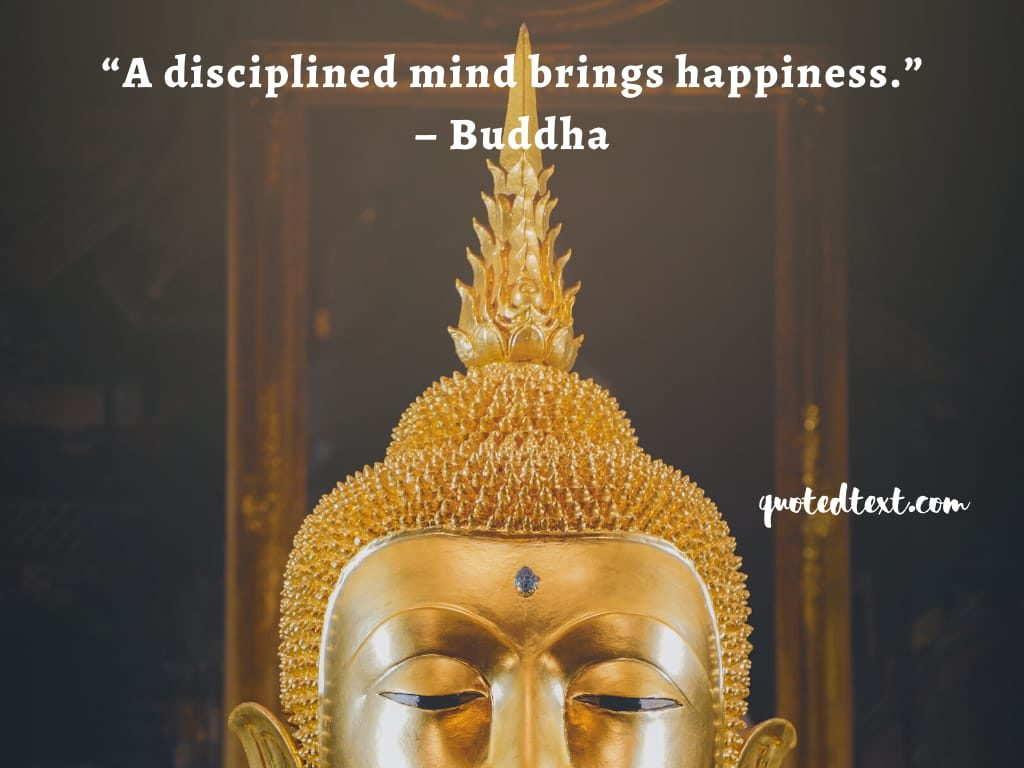 buddha quotes on disciplined mind
