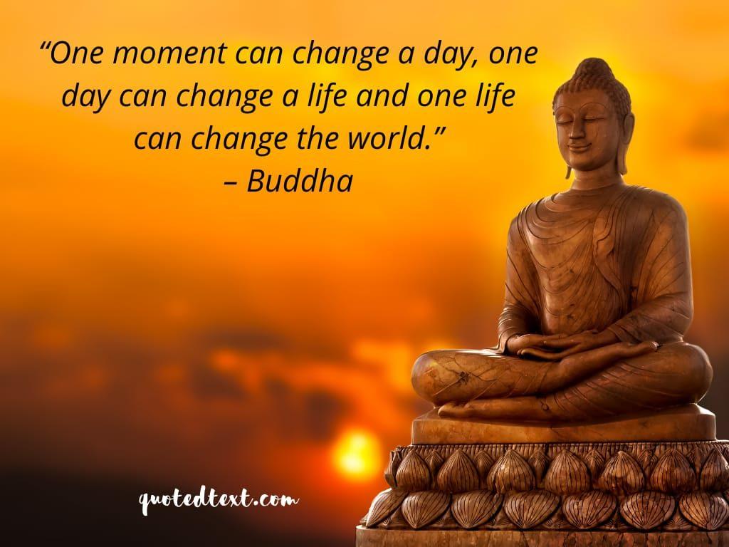 buddha quotes on changing world
