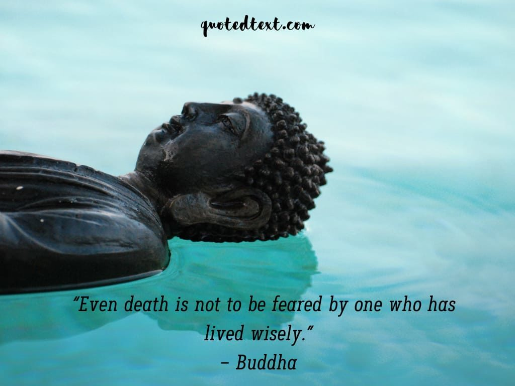 buddha quotes on fear of death