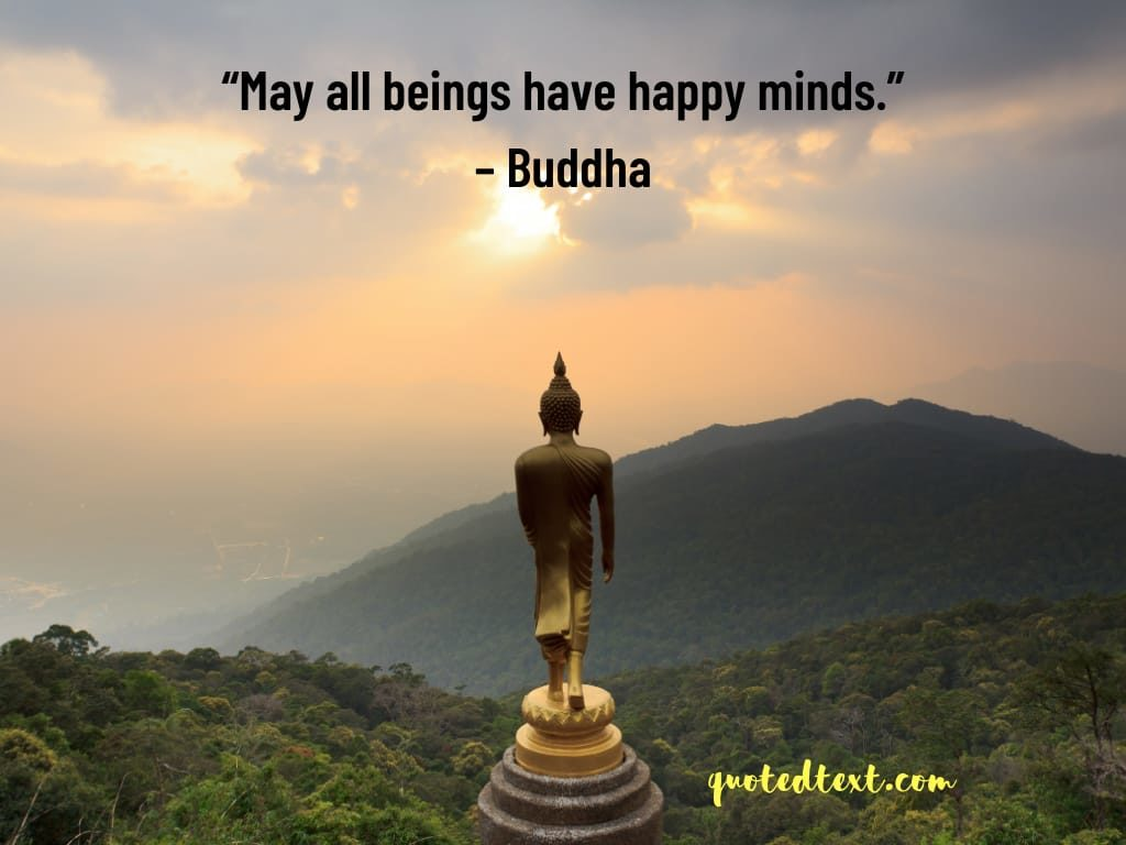 buddha quotes on happy minds