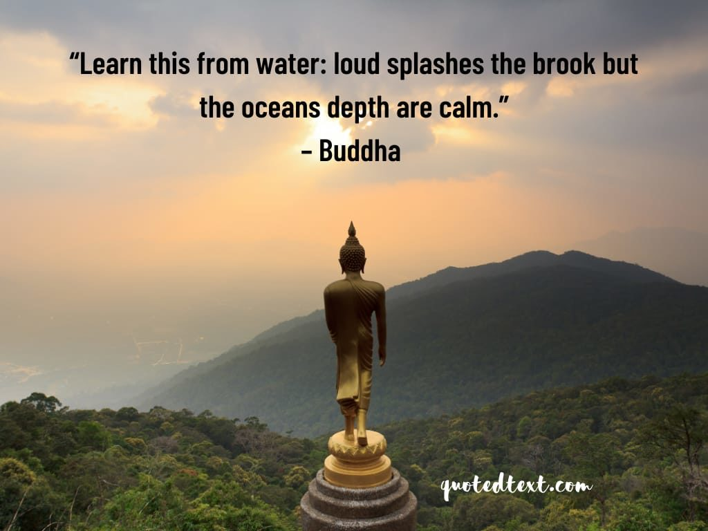 buddha quotes on depth