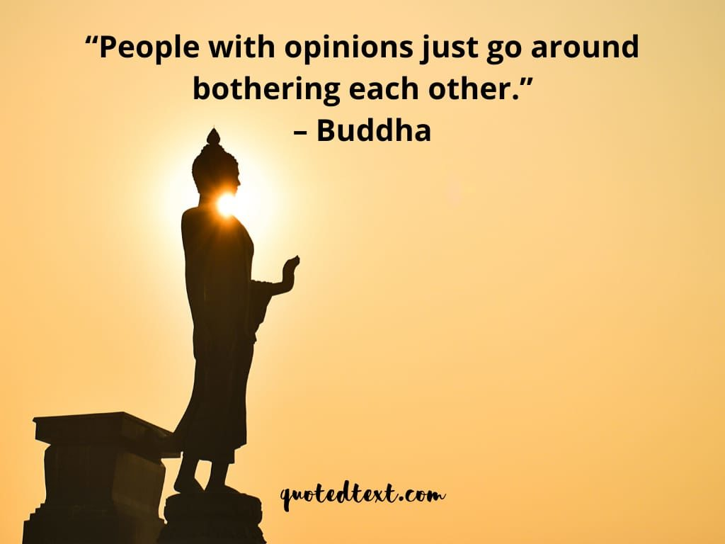 buddha quotes on opinions