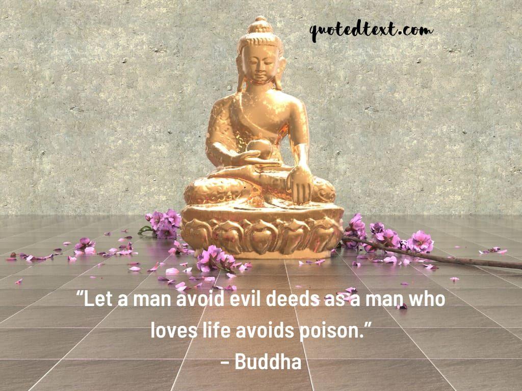 buddha quotes on man