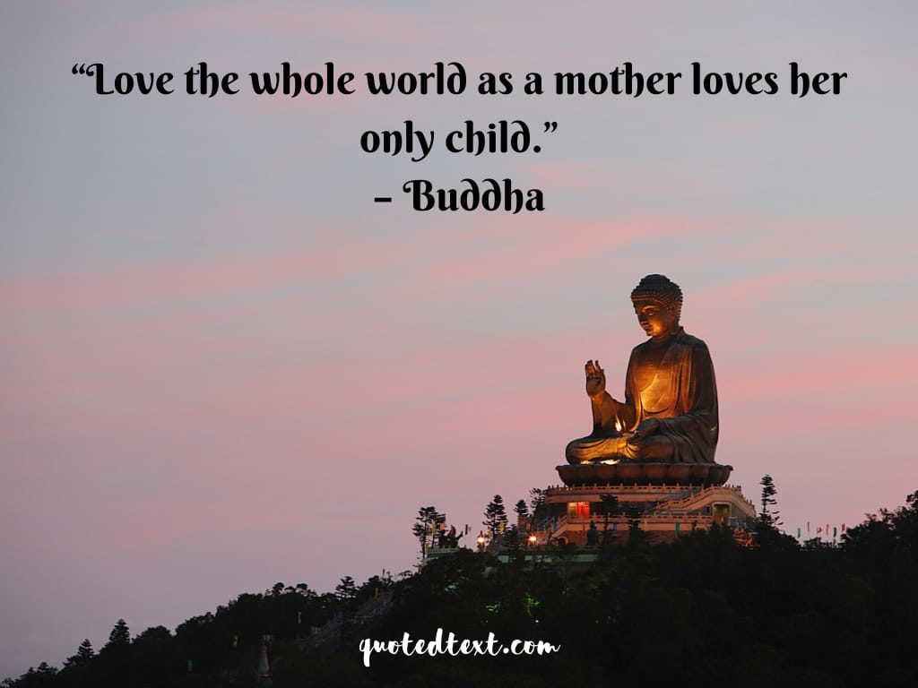 110 Buddha Quotes On Life Love Happiness And Peace Quotedtext