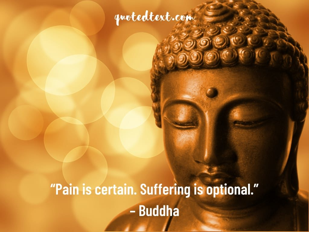 buddha quotes on pain