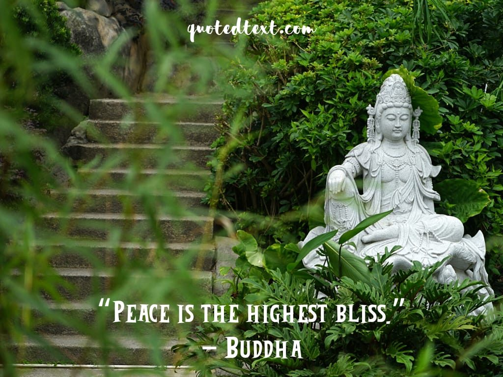 peace is a bliss quotes