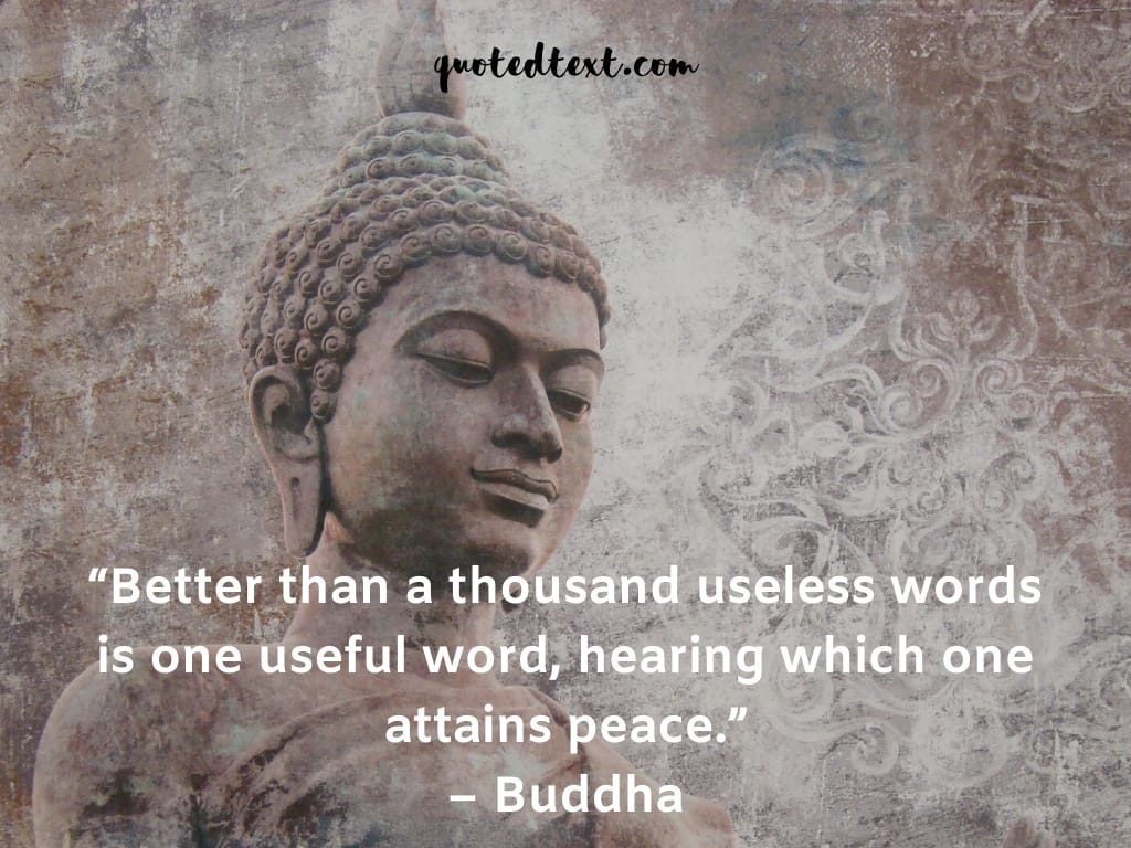 buddha quotes on words