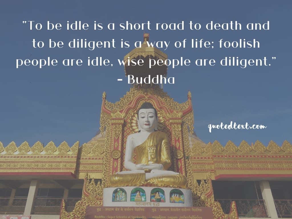 road to death by buddha