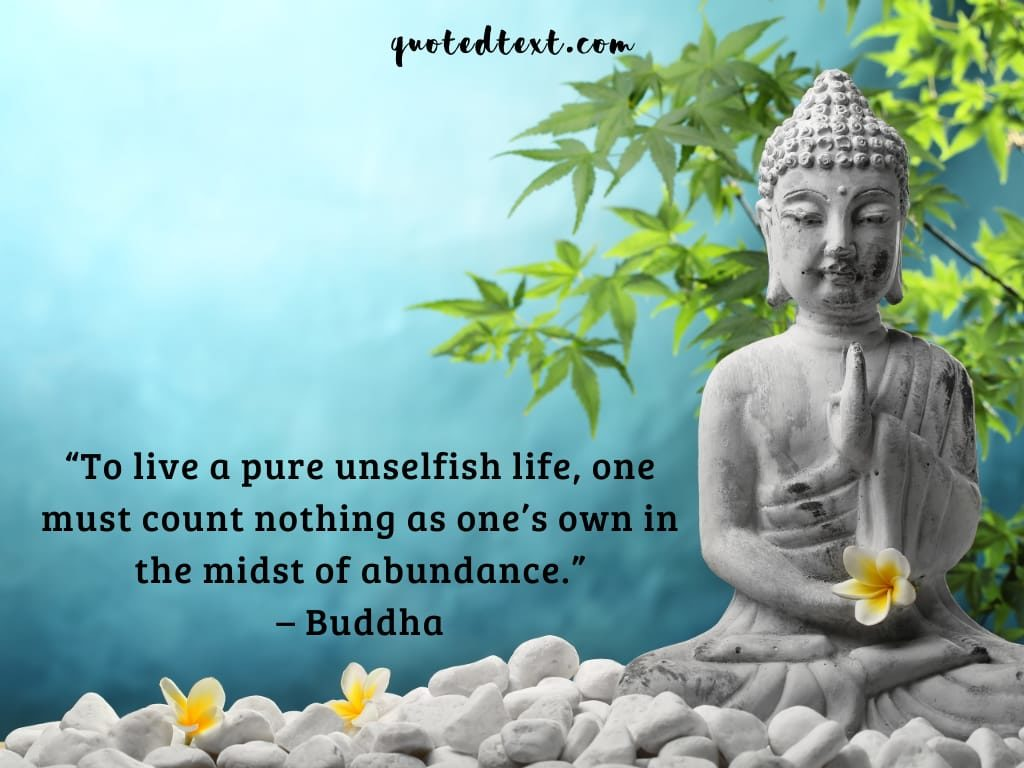 unselfish life quotes