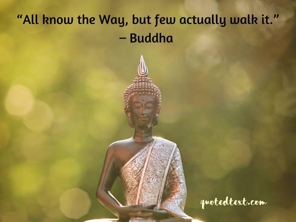buddha quotes on way of life