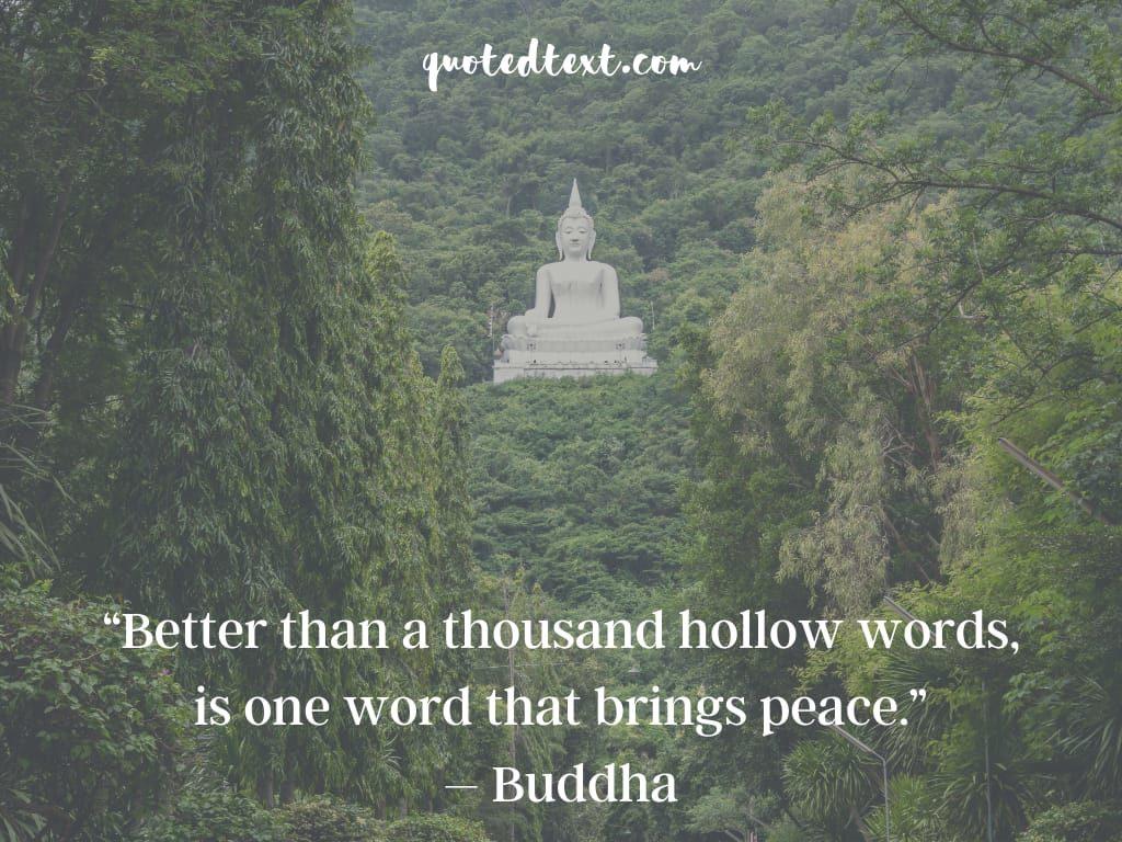 buddha quotes on bringing peace