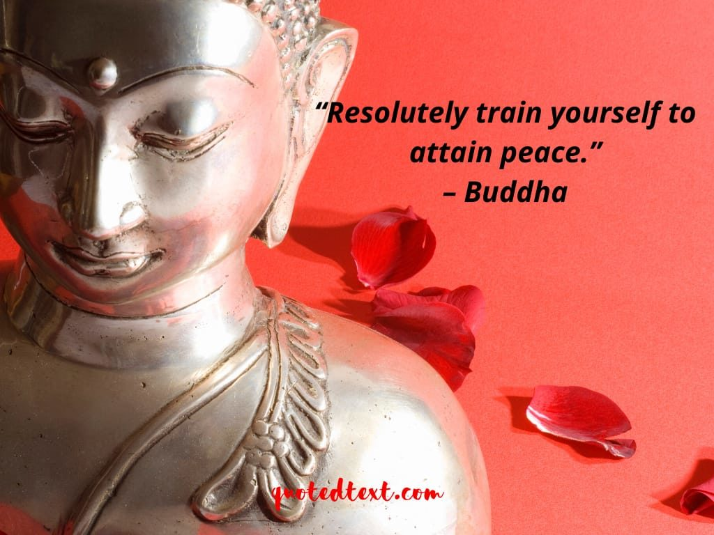 buddha quotes on attain peace