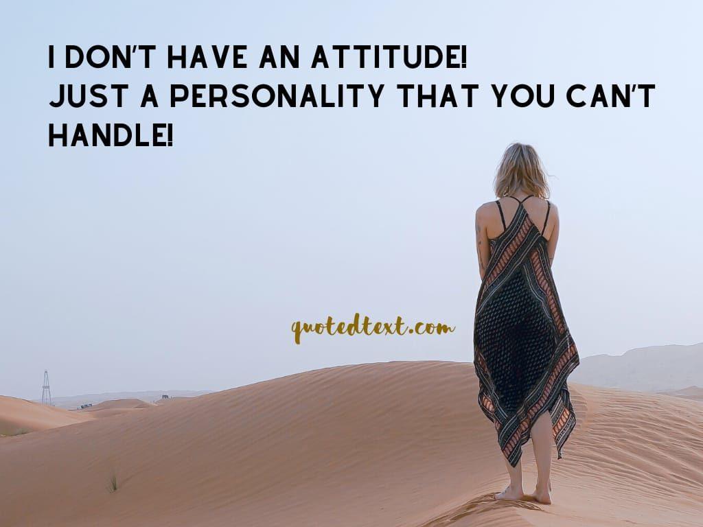 careless attitude status