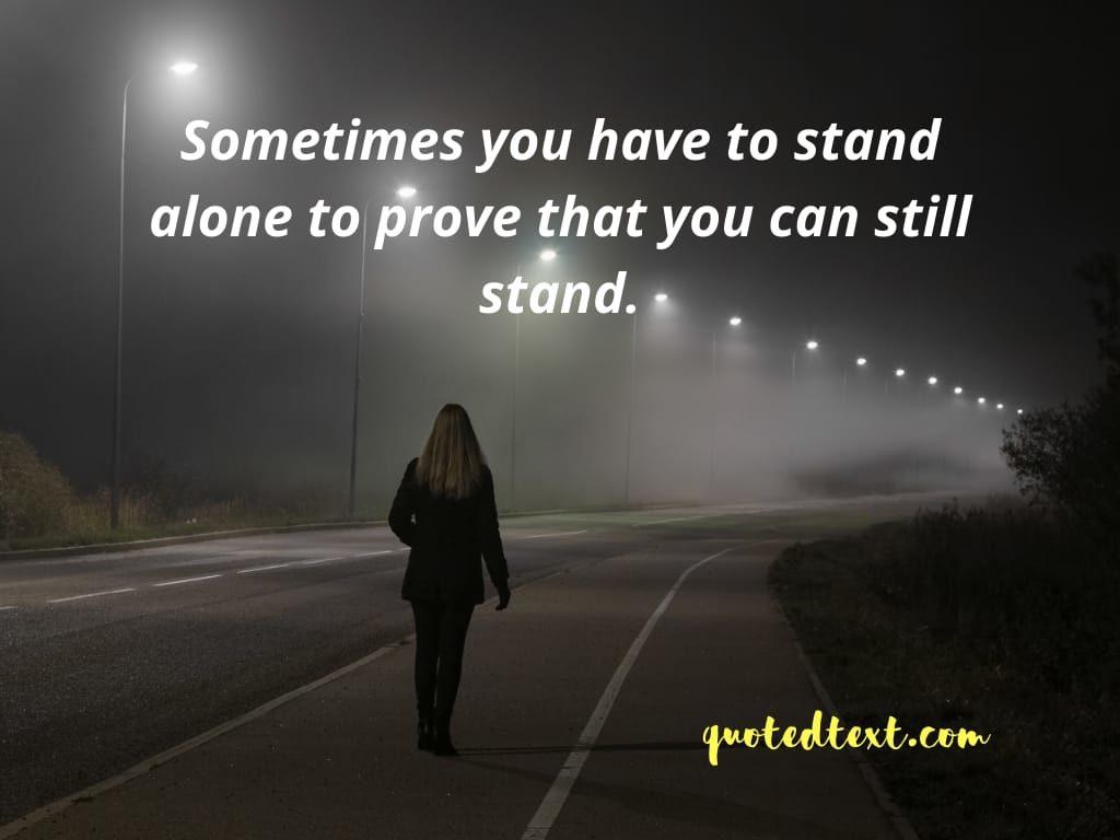 deep alone status