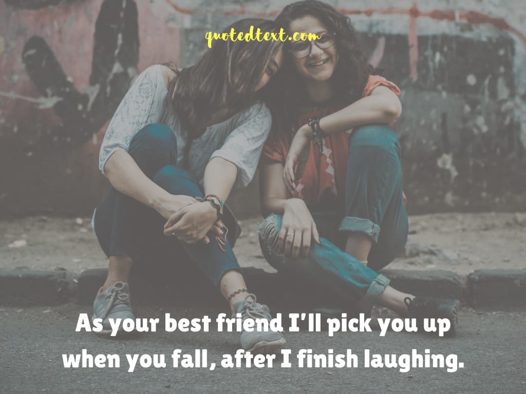 friendship status on laughing with friends