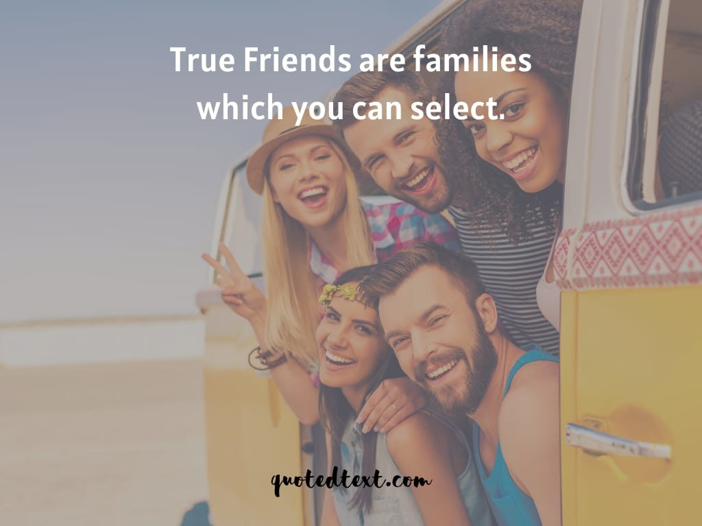 friends are family quotes