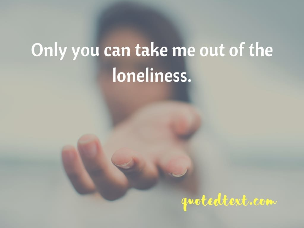 loneliness and alone status