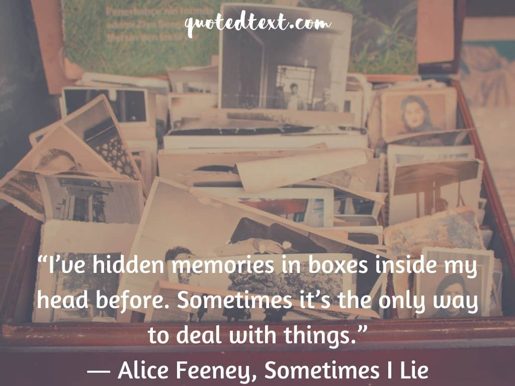 hidden memories quotes