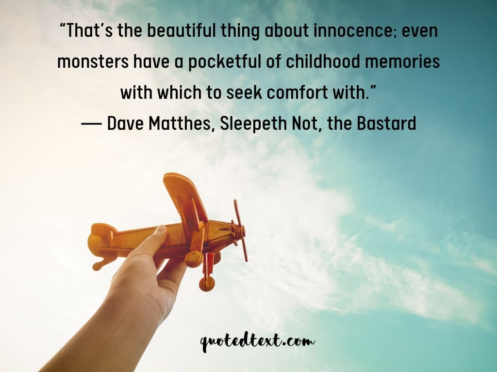 memories quotes on innocence