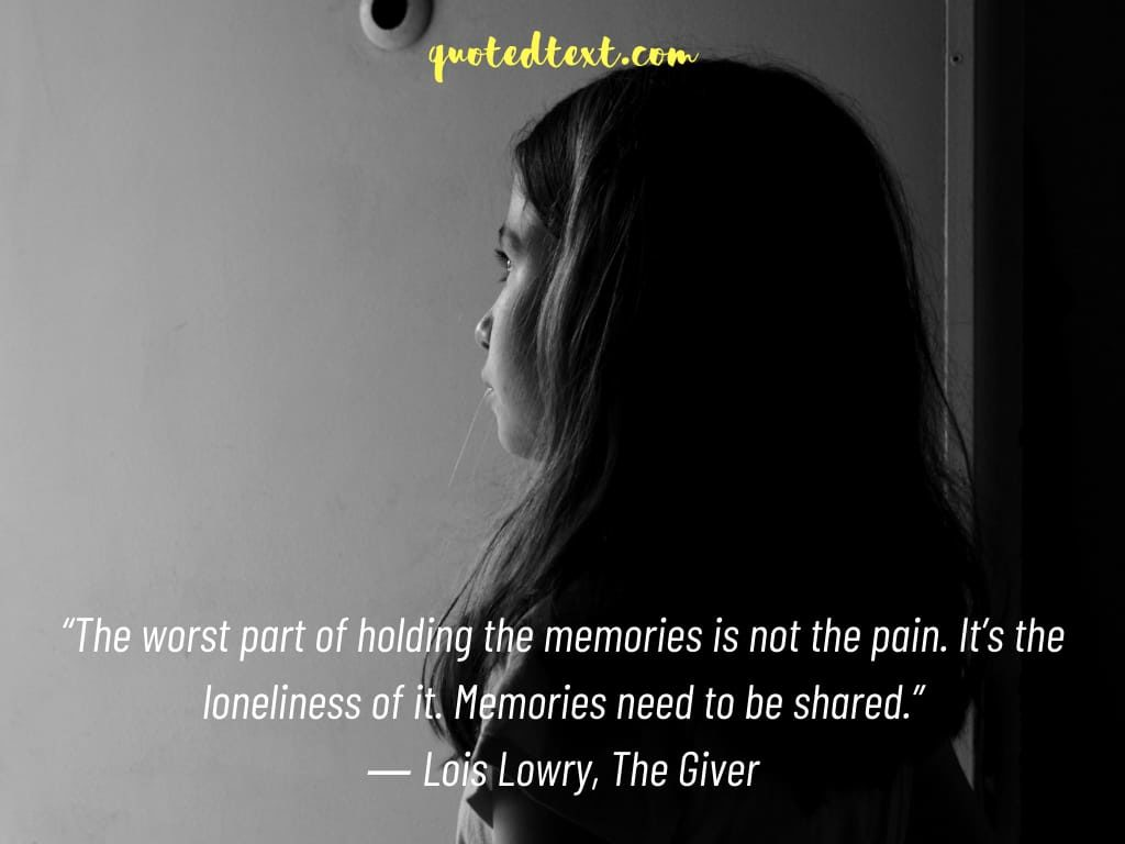 memories quotes on pain