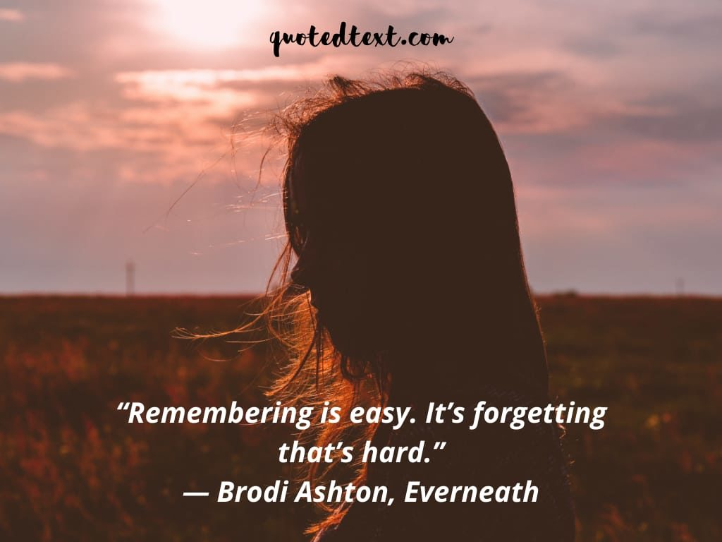 remembering quotes on memories