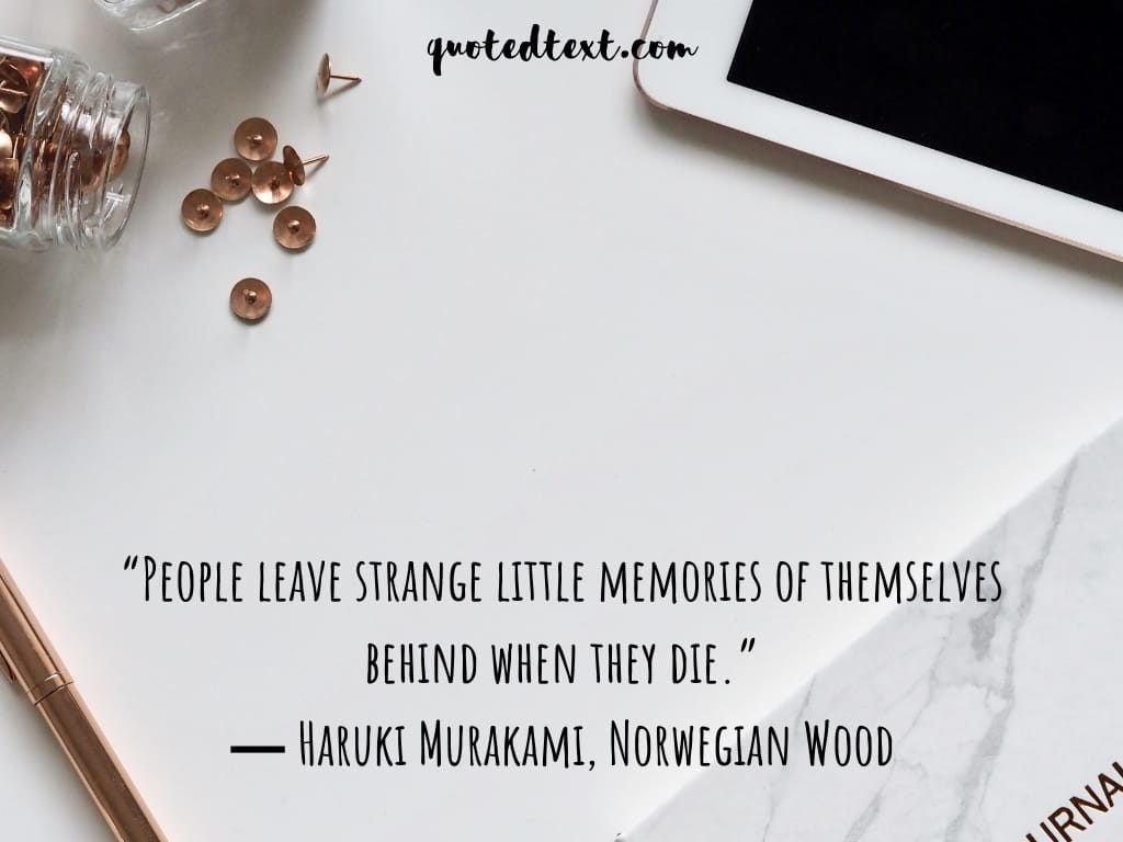 stranger memories quotes