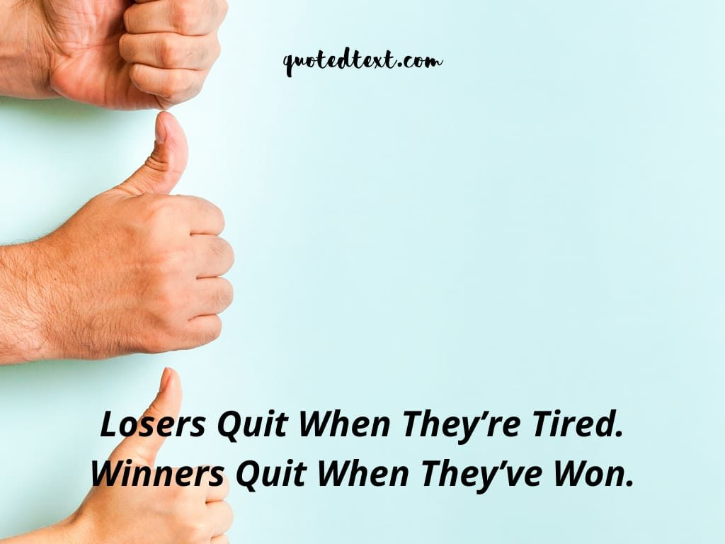 motivational status for winners