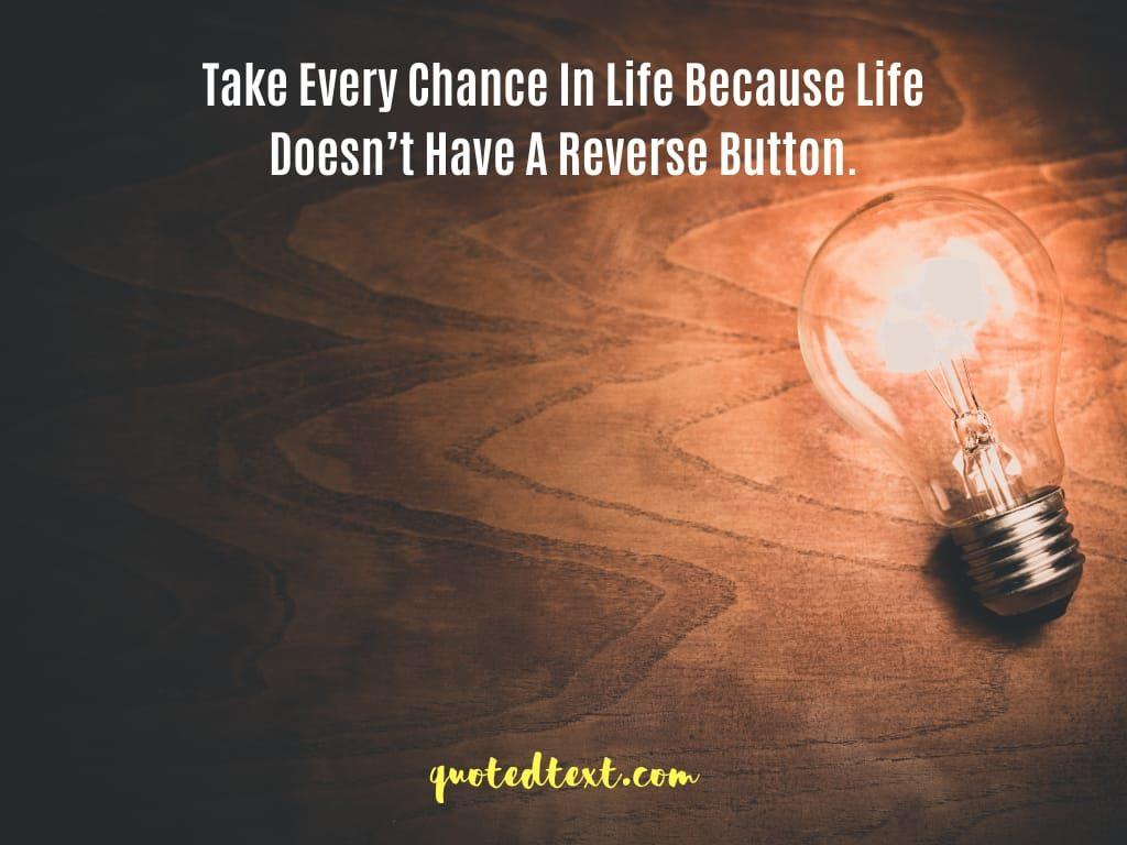 taking chance status