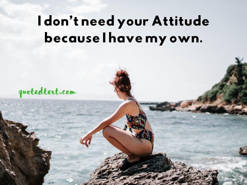 real attitude status