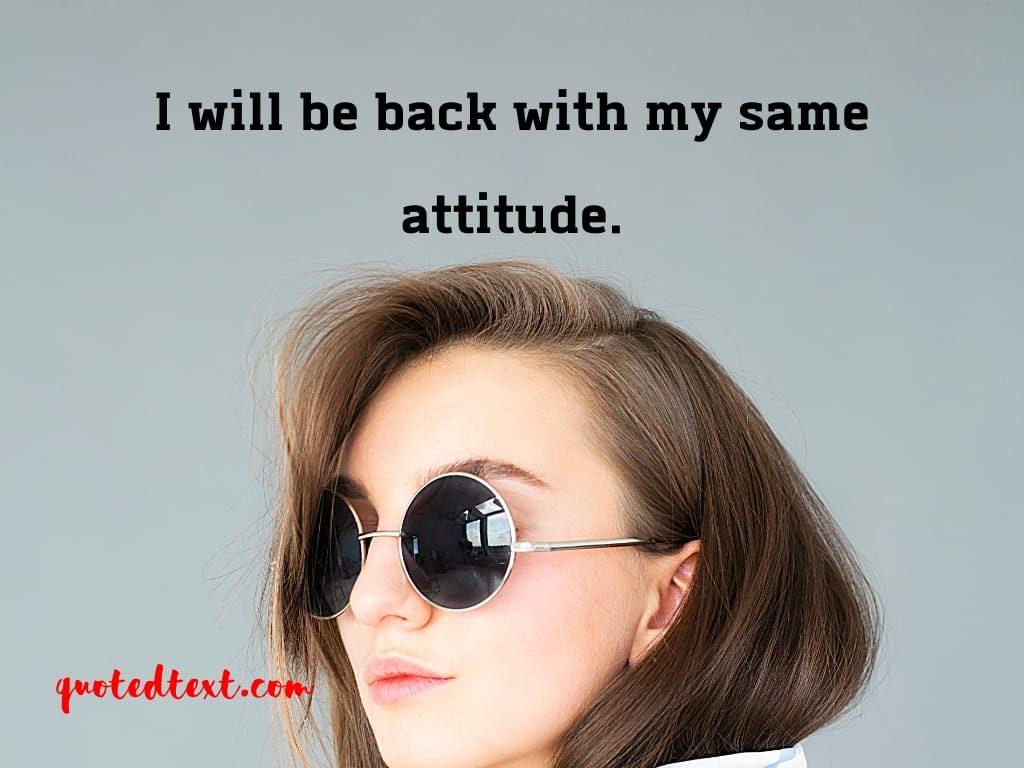 same attitude status