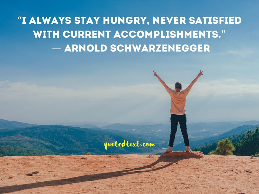 Arnold Schwarzenegger best quotes on success