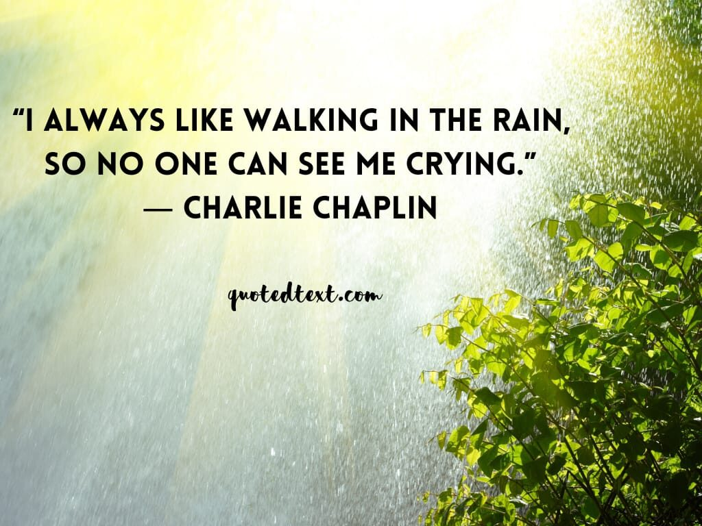 charlie chaplin quotes on crying