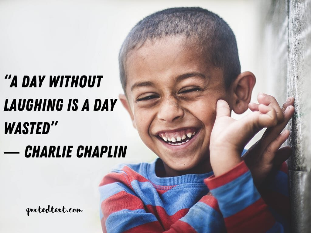 charlie chaplin quotes on laughing