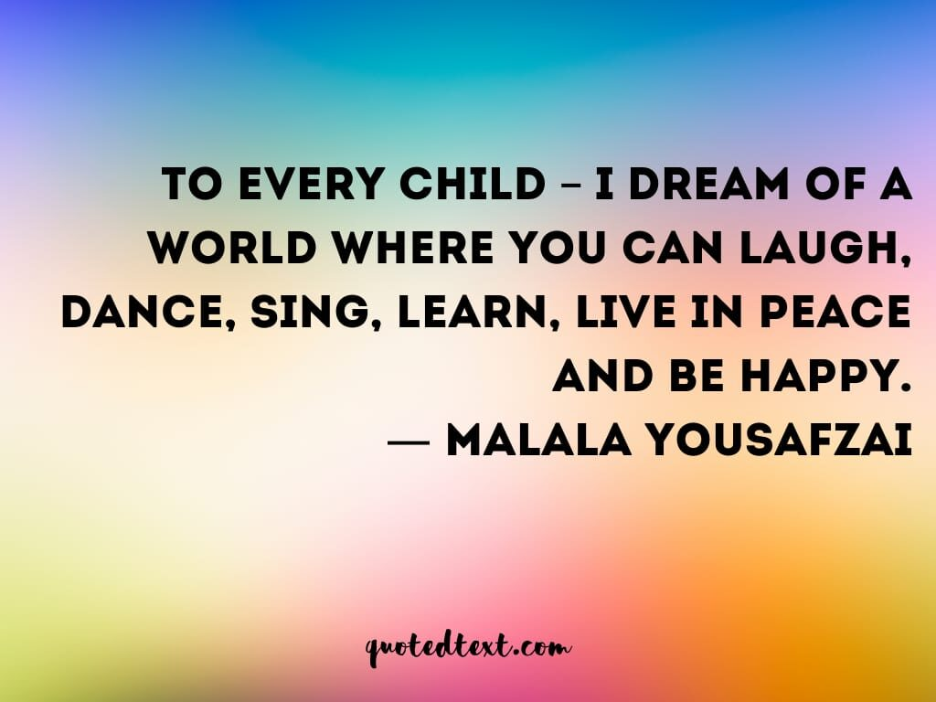 children quotes on dreams