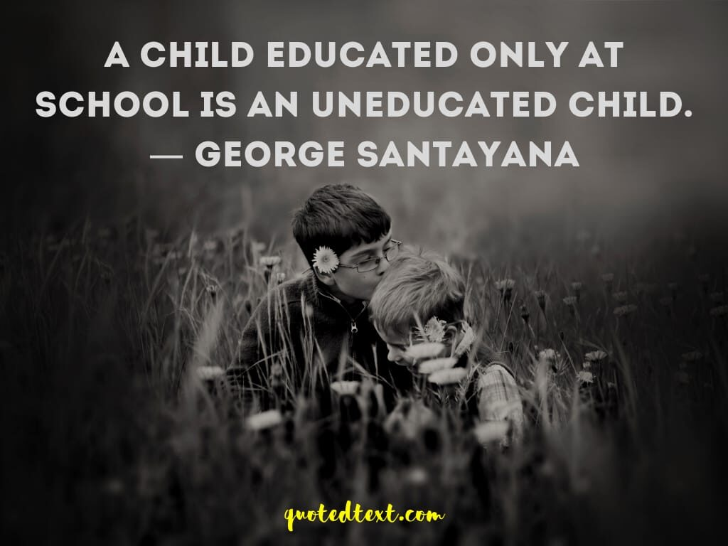 child education quotes