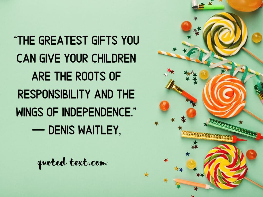 children quotes on gifts