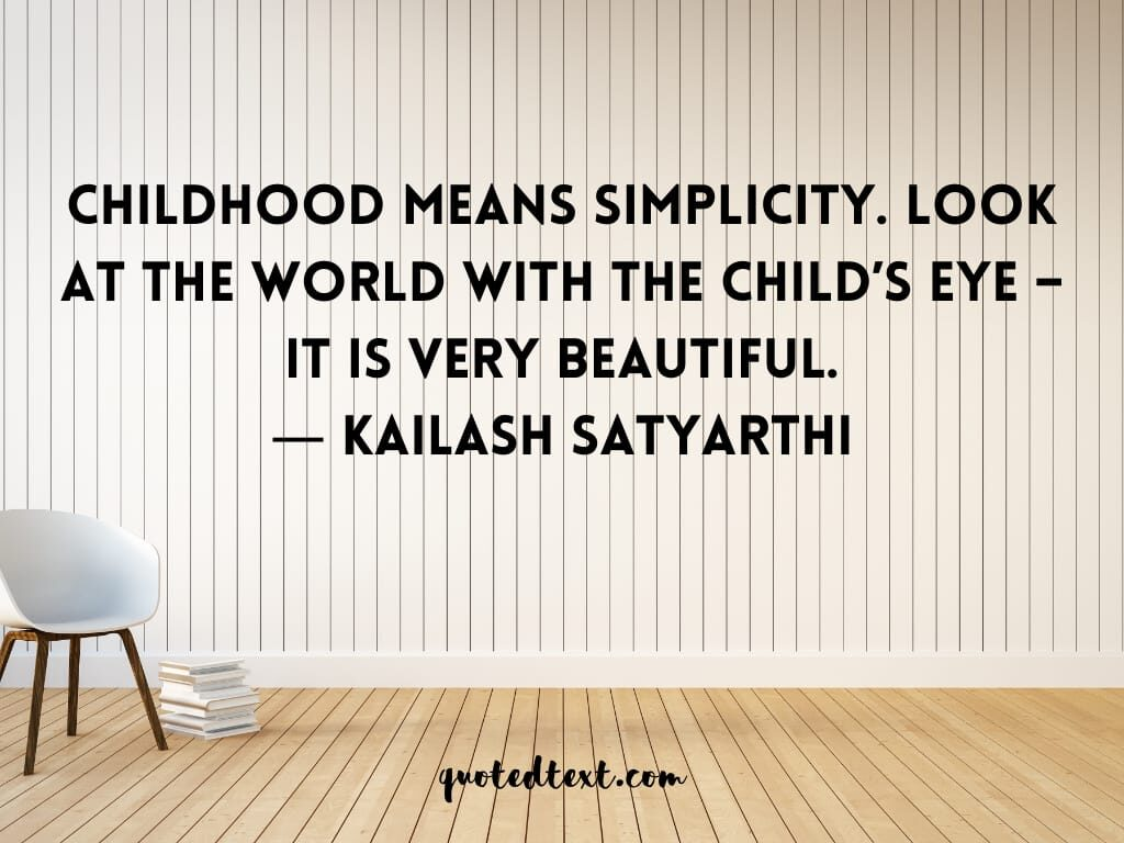 simplicity quotes on children